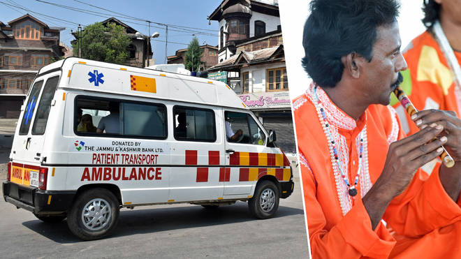 India to replace ambulance sirens with traditional flute and tabla music
