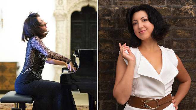 Alexandra Dariescu is a ground-breaking Romanian pianist playing at Classic FM Live 2021