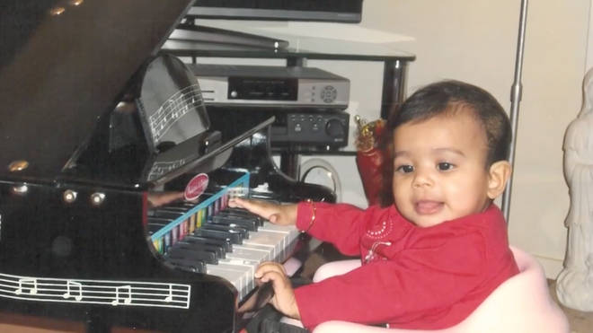 Reeah showed a musical talent from an early age