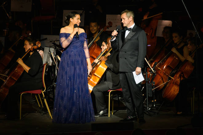 Hosts Margherita Taylor and Alexander Armstrong welcome back audiences to Classic FM Live 2021!
