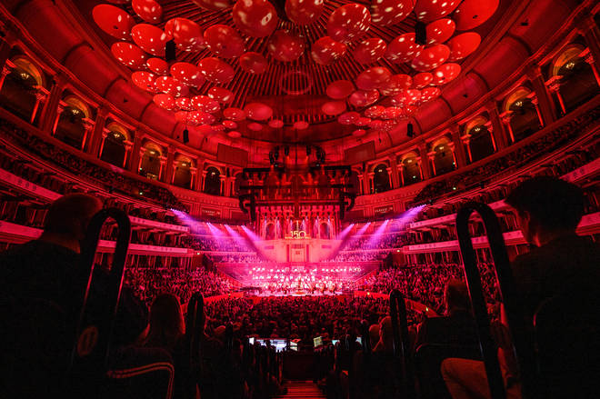The Royal Albert Hall is alive with fantastic music this evening.