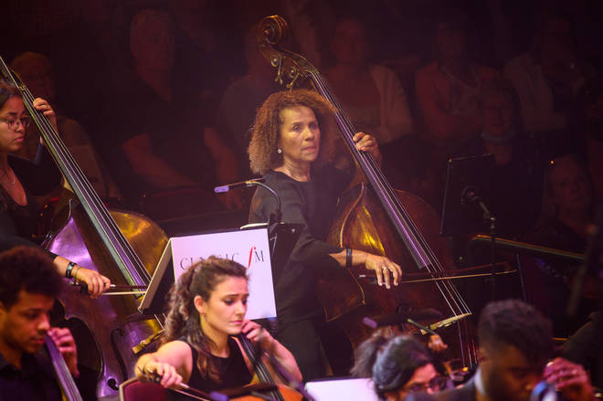 The incredible Chi-chi Nwanoku, double bassist and founder of the Chineke! Foundation