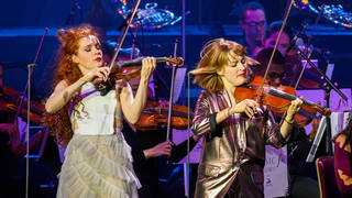 French string duo Camille and Julie Berthollet play at Classic FM Live 2021