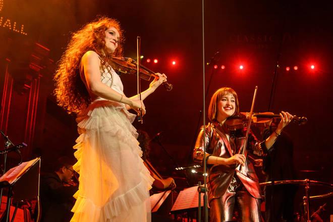 The Berthollet sisters play Vivaldi, Jenkins and Djawadi for their Royal Albert Hall debut
