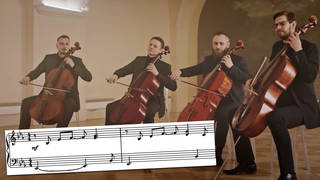 This string rendition of the Bee Gees' 'How Deep is Your Love' is sheer delight