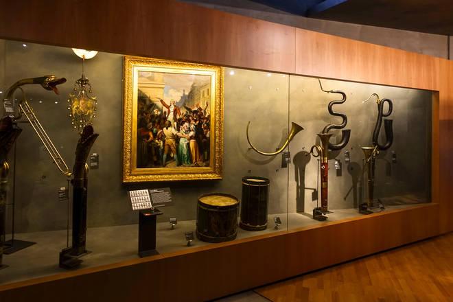 Music Museum, City of Music - Paris, France