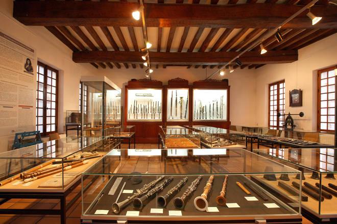 Wind Instrument Museum - La Couture-Boussey, France