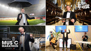 Classic FM's Alexander Armstrong sang 24 concerts in 24 hours for our charity Make Some Noise