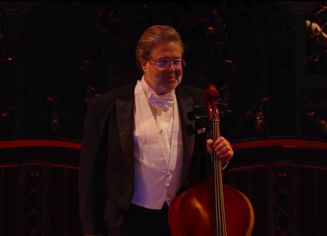 Rostropovich in 'Diana the Musical'