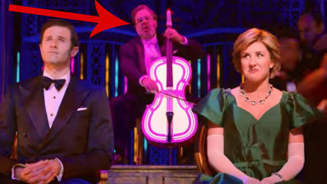 Mstislav Rostropovich in Netflix's Diana the Musical