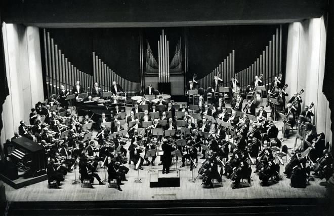 Promotional photo of Philadelphia Orchestra c.1970