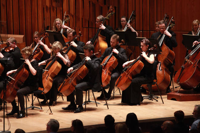BBC Symphony Orchestra Perform in all-black