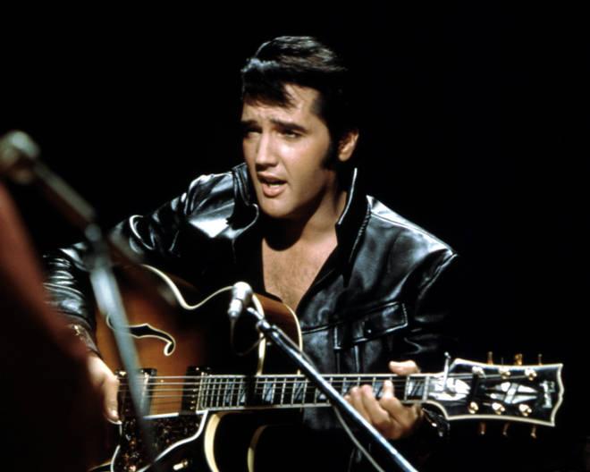 Elvis Presley on television 1968