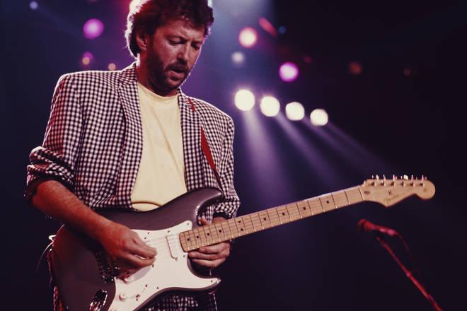 Eric Clapton At Prince's Trust Rock Gala