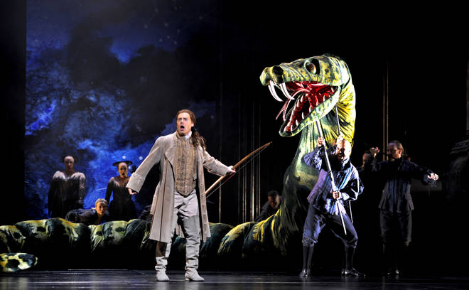 The Royal Opera's Production Of Mozart's Magic Flute At The Royal Opera House