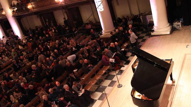 Steven Osborne Performs At International Piano Series In London