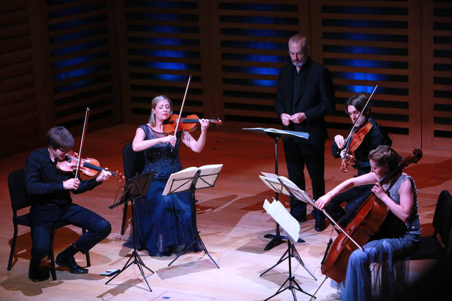 Mark Padmore With Sacconi Quartet For 15th Anniversary Concert