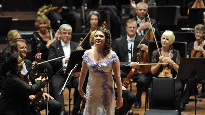 UK -Valery Gergiev conducts the Edinburgh International Festival's opening concert at the Usher Hall in Edinburgh.