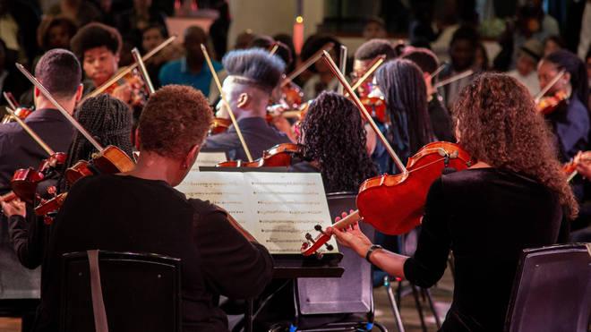 Chineke! Juniors Orchestra Performing at Southbank Centre, London