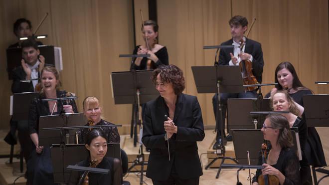 Nathalie Stutzmann with the Kristiansand Symphony Orchestra