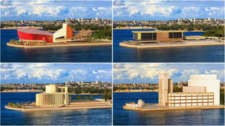 Here's what the Sydney Opera House could have looked like