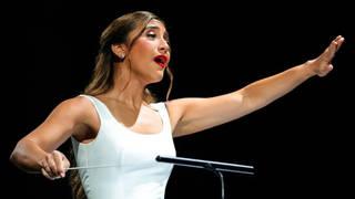 Yasmina Sabbah conducts Firdaus Orchestra
