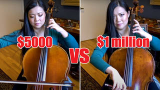 Is there a difference between a $1 million cello and $5000 cello? This cellist puts it to the test