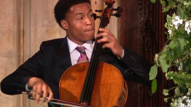 Sheku Kanneh-Mason at the Royal wedding