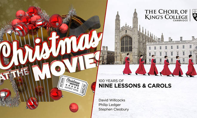 New Releases: 100 Years of Nine Lessons & Carols – The Choir of King's College Cambridge; Christmas At The Movies – Robert Ziegler