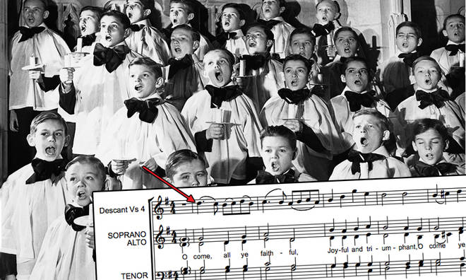What actually are descants – and why do we sing them at Christmas