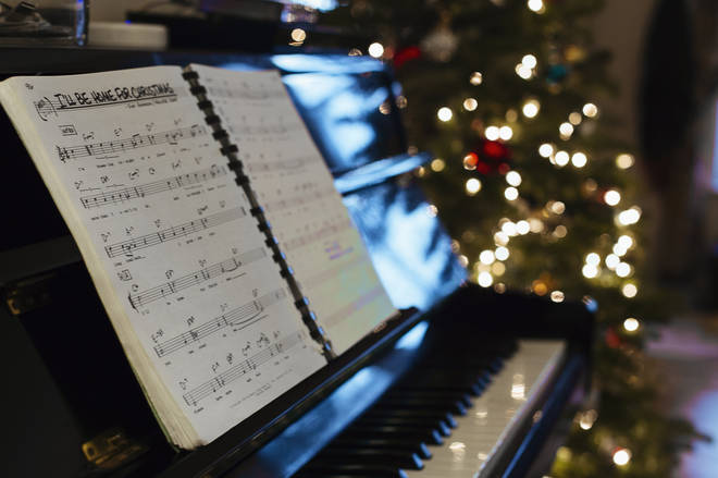 Getting into the Christmas spirit with sheet music