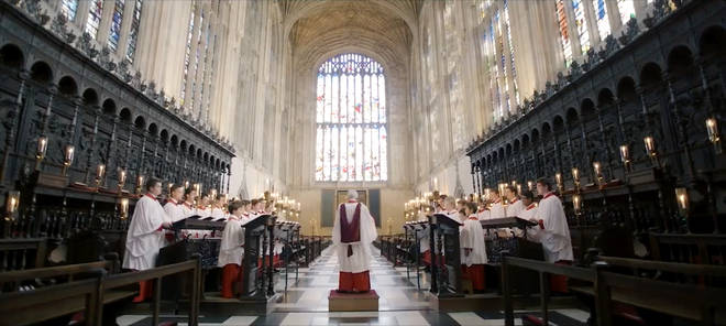 The Choir of King's College, Cambridge regularly perform the carol at their Christmas service