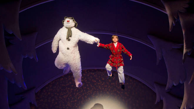 Final Rehearsals For Birmingham Repertory's Production Of The Snowman