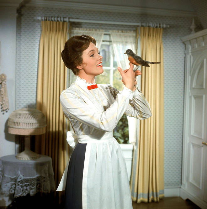 Julie Andrews as Mary Poppins (1964)