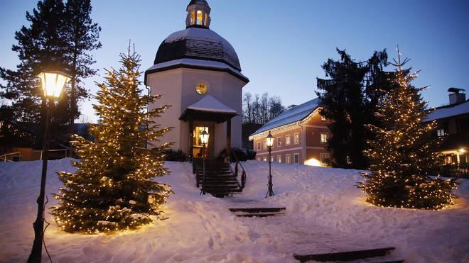 St Nicholas Church, Oberndorf bei Salzburg, Austria