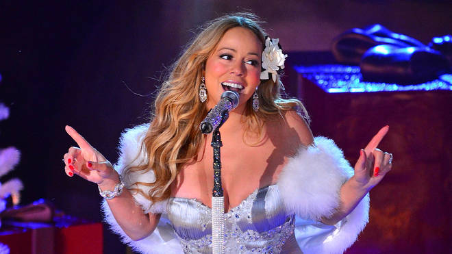 Mariah Carey Performs During NBC's Pre-Tape Christmas Tree Lighting