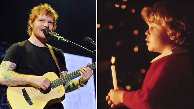 Ed Sheeran sang in his church choir, in Suffolk