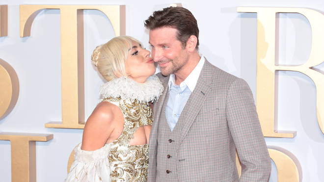 Lady Gaga and Bradley Cooper at the UK premiere for A Star Is Born