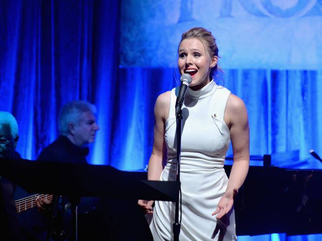 Kristen Bell, the voice of Princess Anna