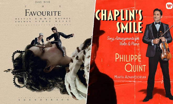 New Releases: The Favourite Soundtrack – Various Artists; Chaplin's Smile – Philippe Quint