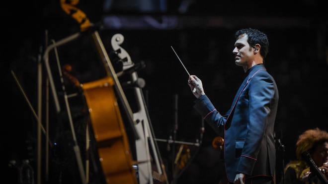 Ramin Djawadi conducting 'Game Of Thrones' In Concert - New York, New York