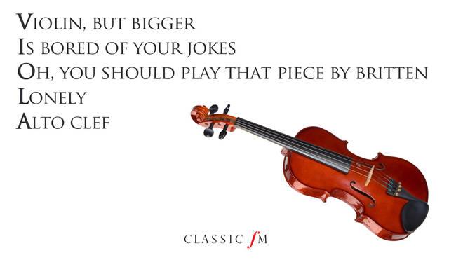 Viola acrostic