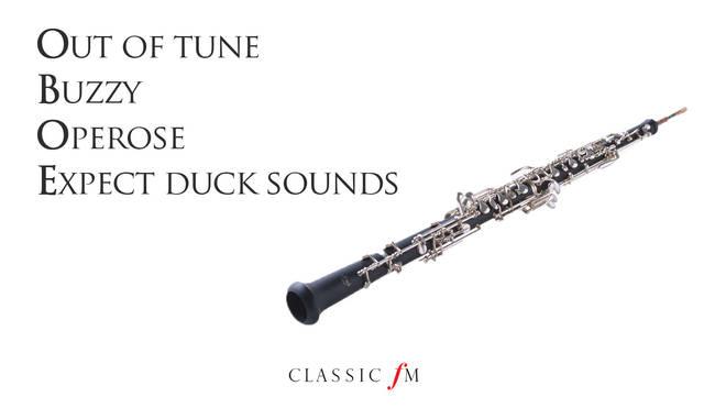 Oboe acrostic