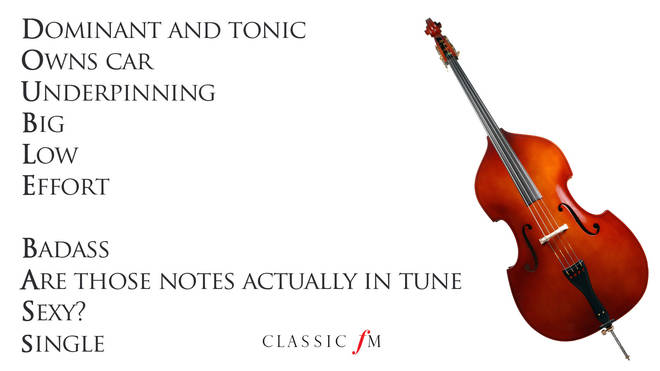 Double bass acrostic