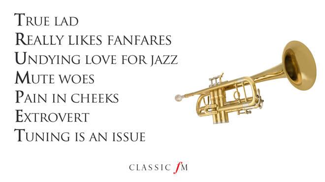 Trumpet acrostic