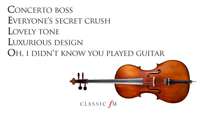Cello acrostic
