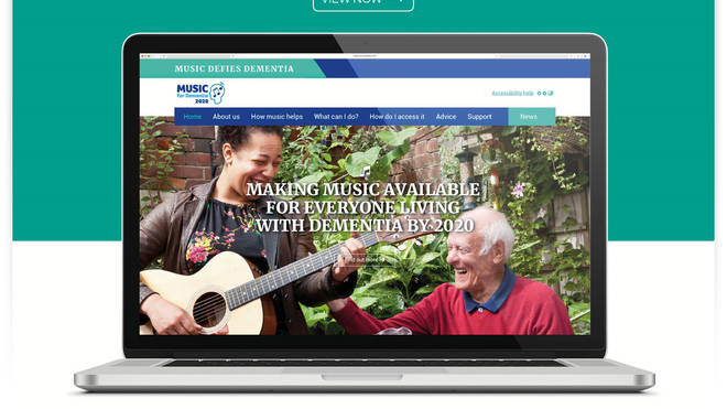 Campaign launches to widen access to music for dementia patients