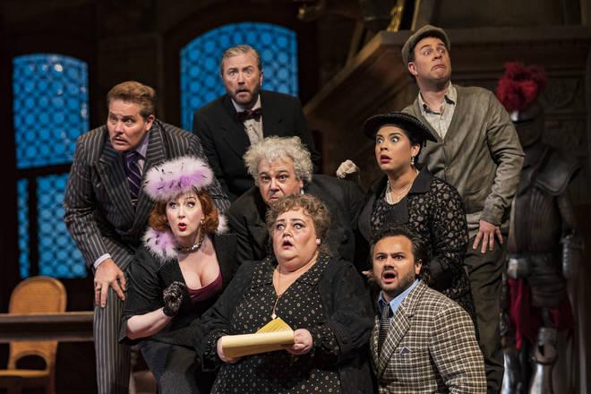 Met Opera Cast Performs 'Il Trittico'