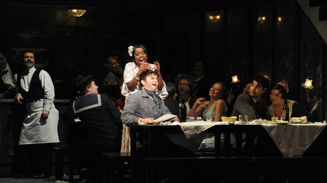 ENO's Production Of 'La Boheme' At The London Coliseum