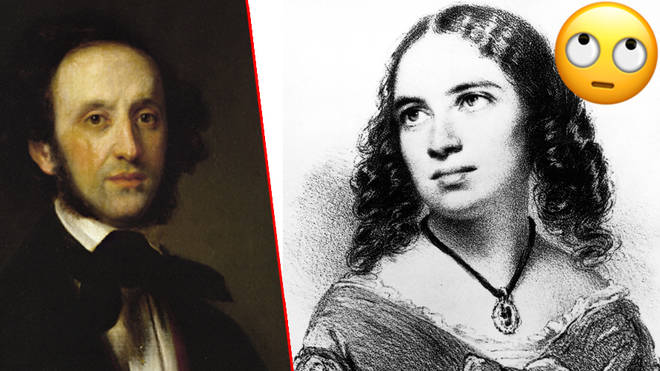 Fanny and Felix Mendelssohn
